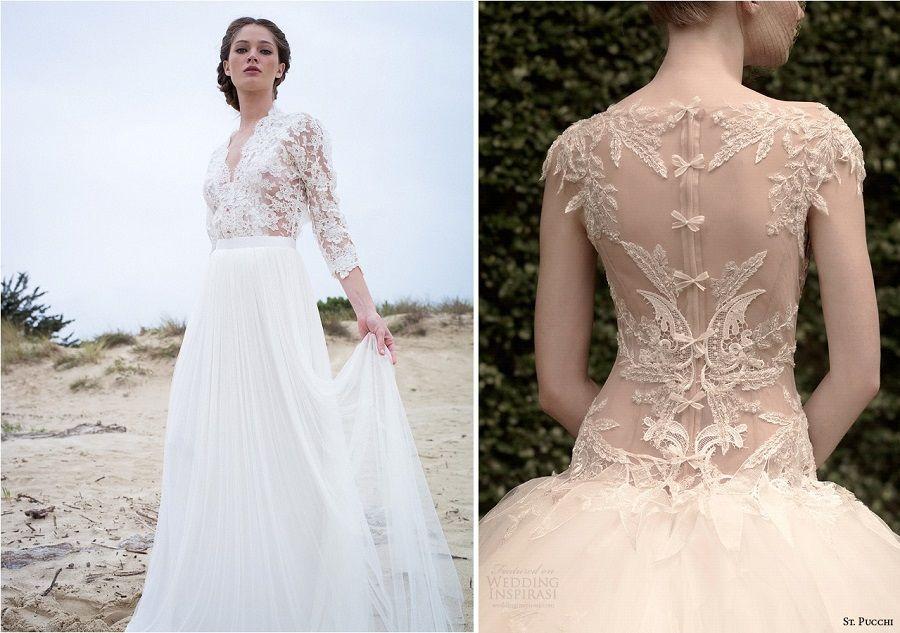 Robe de mariée sexy