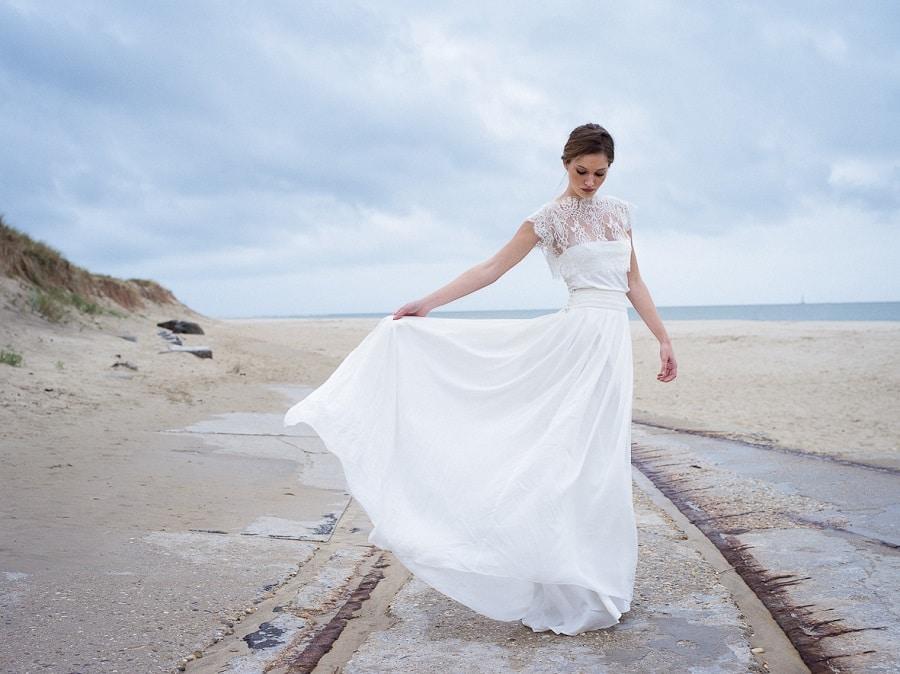 Robe de mariee faite sur mesure