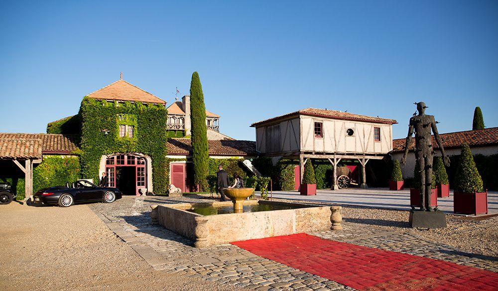 Souvent Mariage Chic et Fleuri au Château Smith Haut Lafitte BB29