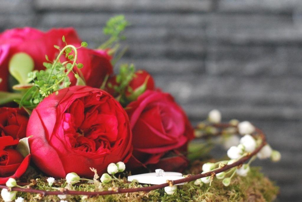 bouquet saint valentin rouge