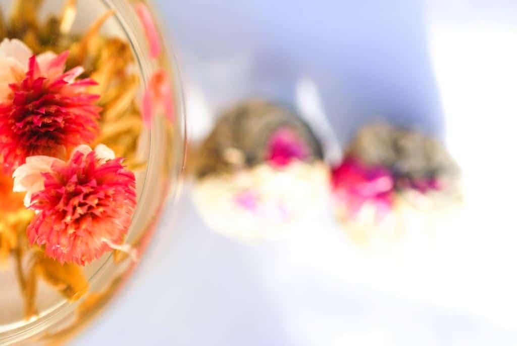 cadeau original invités mariage fleurs de thé pas cher