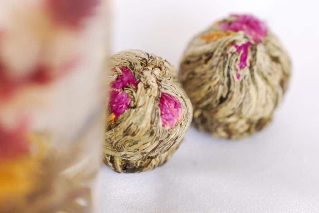 cadeau original invités mariage fleurs de thé séchée