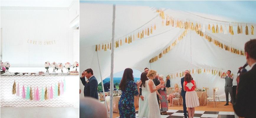 tassels décoration mariage