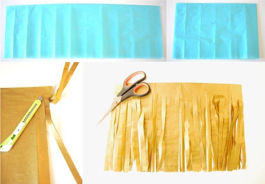 DIY guirlande de tassels mariage