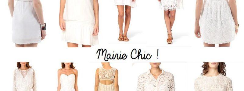 10 robes courtes et chics pour la mairie