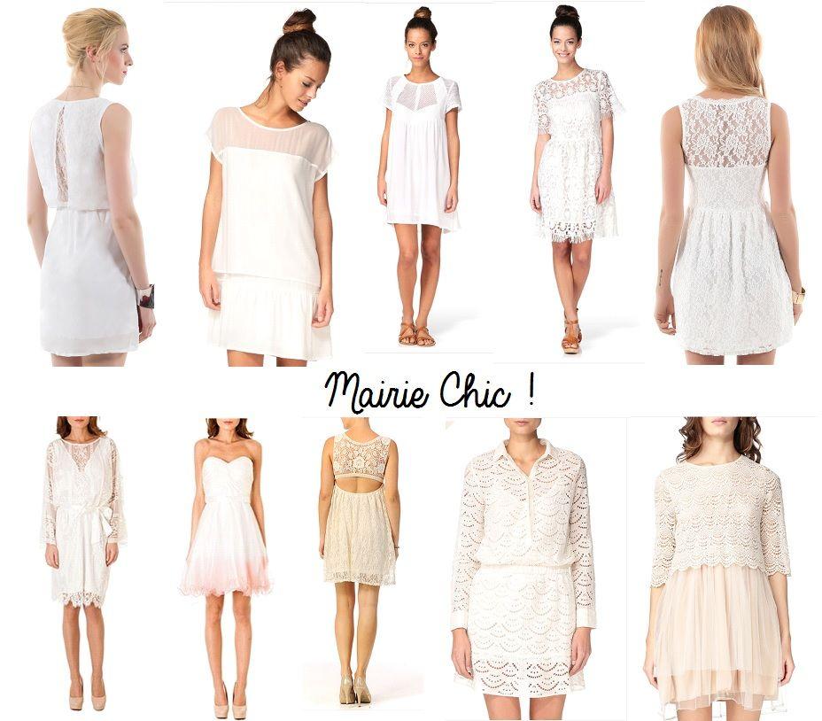 10 robes chics pour la mairie for Robes de mariage pour la plage