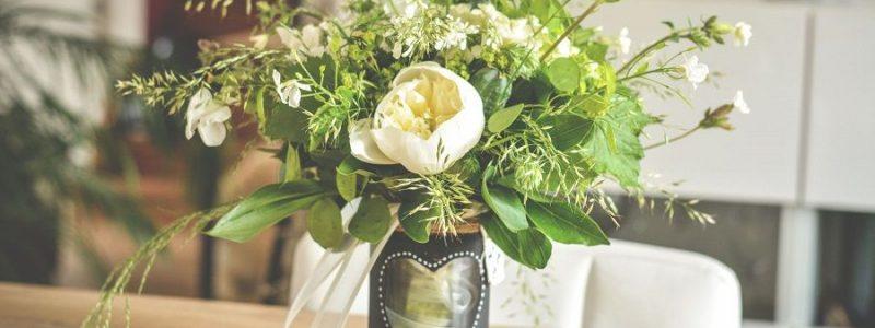 {DIY} Le vase ardoise pour vos numéros de table