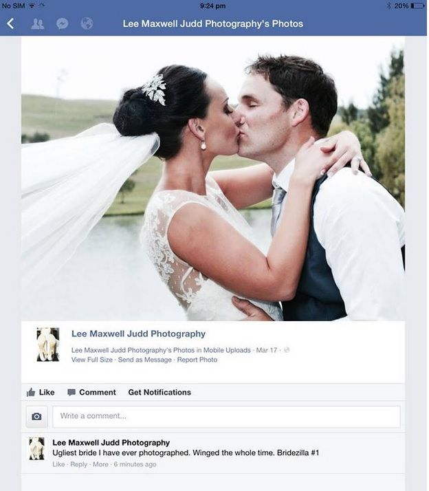 mariée moche