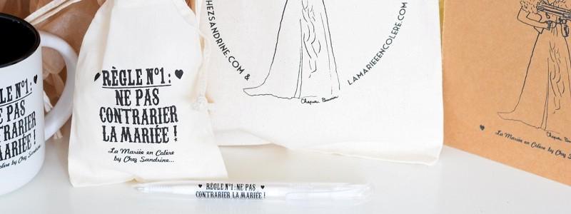 {Concours} Mugs, débardeurs, stylos… Les mariées en colère en force !