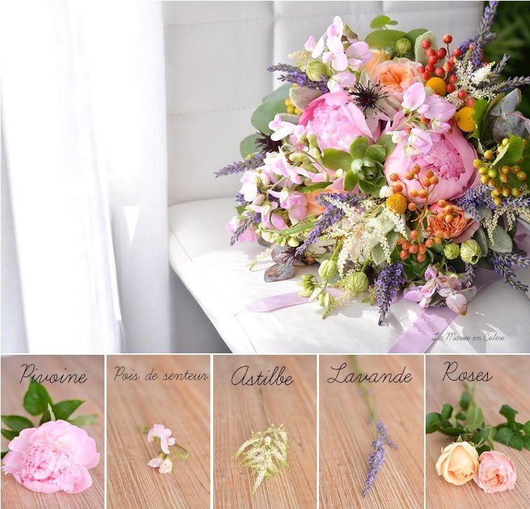 inspiration un bouquet de mari e pour juillet la mari e en col re blog mariage grossesse. Black Bedroom Furniture Sets. Home Design Ideas