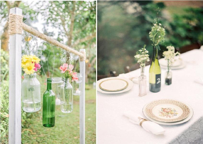 Inspiration d co r cup des bouteilles en verre la mari e en col re blog - Comment decorer un verre ...