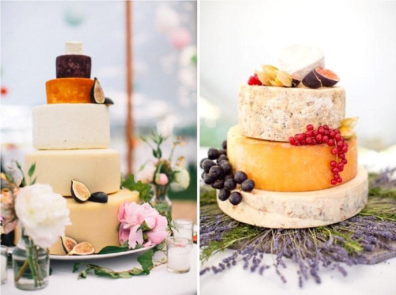 pièce montée de fromages