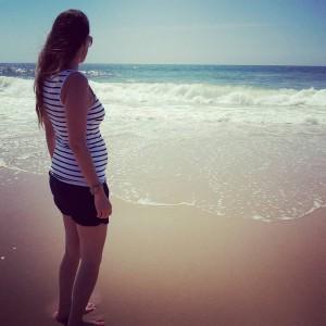 belle femme enceinte