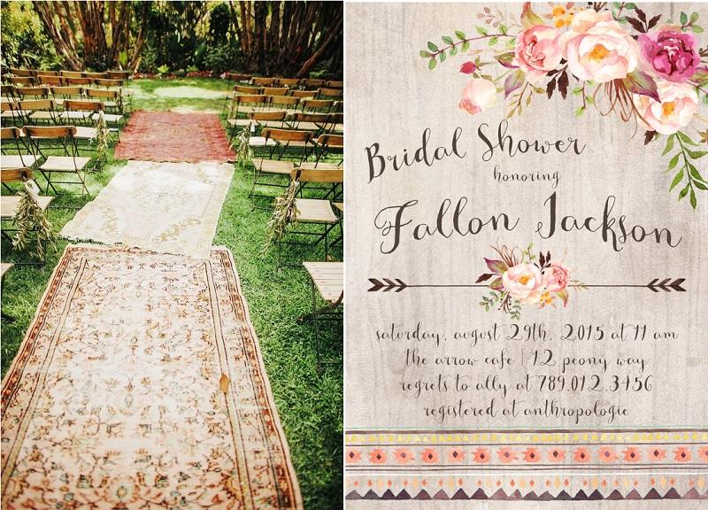 Mariage bohème, gypsy wedding
