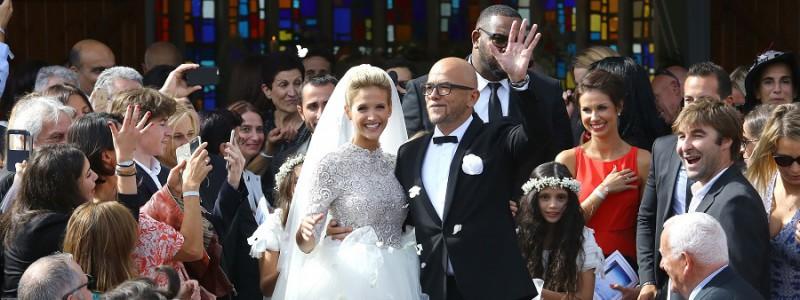 Découvrez les premières images  du mariage de Pascal Obispo