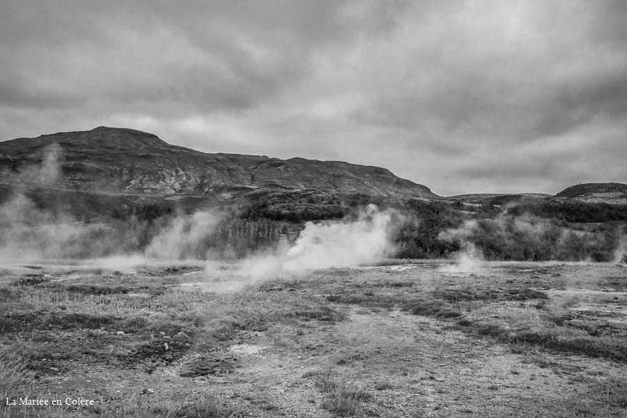 Parc de geysir Islande