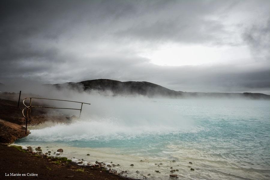 Myvatn Islande lagon