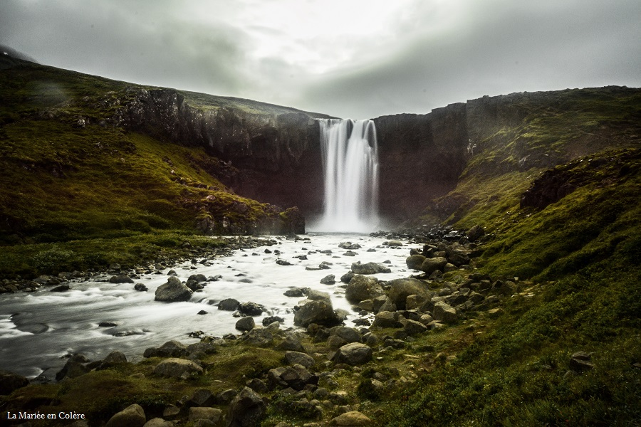 cascade Seydisfjordur