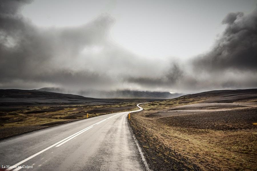 route Seydisfjordur