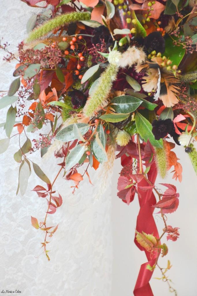 bouquet de mari e octobre rouge la mari e en col re blog mariage grossesse voyage de noces. Black Bedroom Furniture Sets. Home Design Ideas
