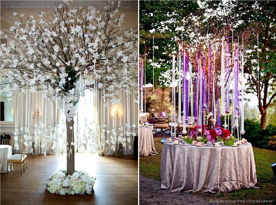 arbre décoration mariage