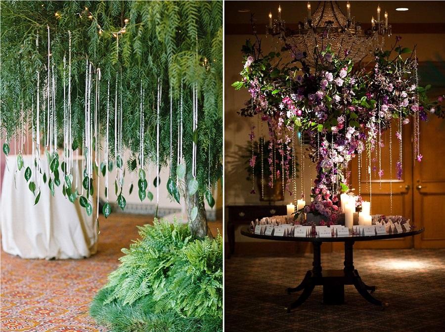 decoration mariage arbre