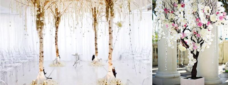 {Inspiration} Décorer son mariage avec des arbres