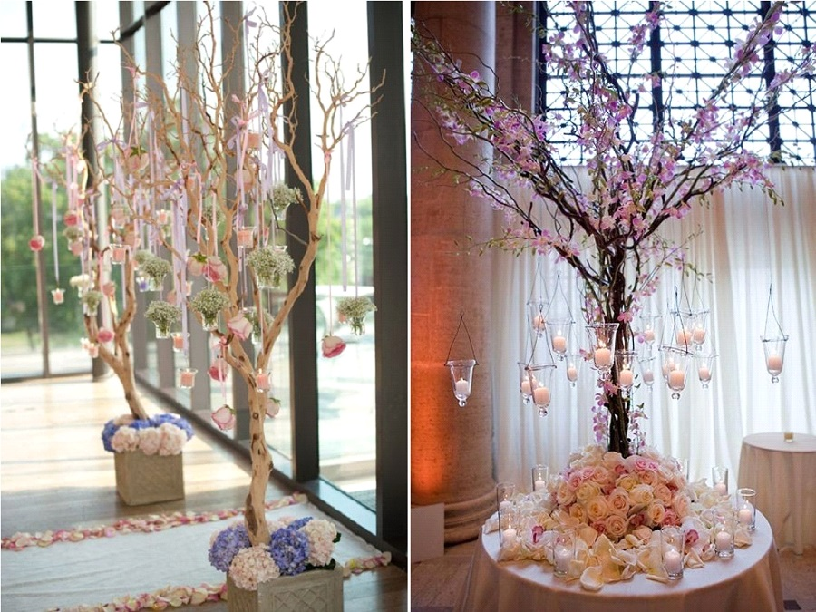 Decoration arbre pour mariage for Arbre decoration