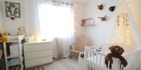 La chambre de Mademoiselle Loulou avant/après