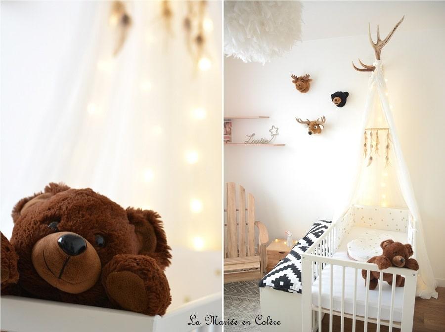 décoration chambre bébé animaux
