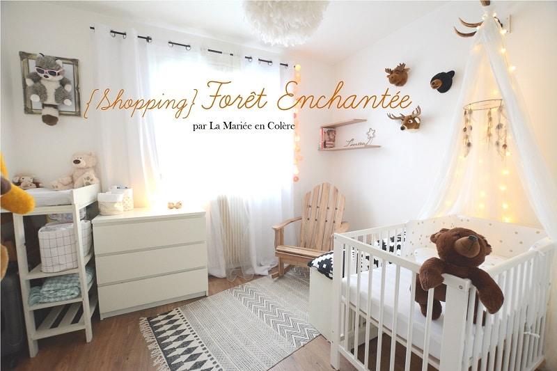 shopping la chambre dans la for t enchant e de louise la mari e en col re blog mariage. Black Bedroom Furniture Sets. Home Design Ideas