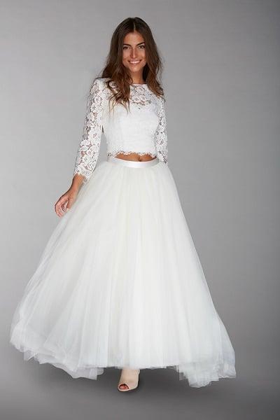 Robes de mariée 2016  5 tendances à retenir