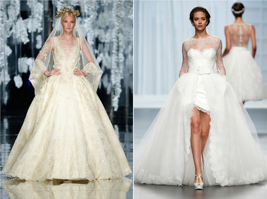 Robes de mari e 2016 10 mod les de princesse la mari e for Robes que les gens portent aux mariages