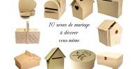 {Shopping} 10 urnes de mariage à décorer soi-même