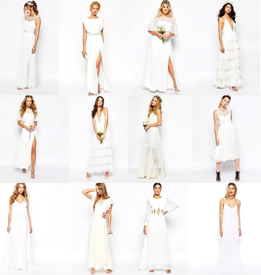 Shopping 12 robes longues pour le lendemain du mariage for Robes formelles pour 50e anniversaire de mariage