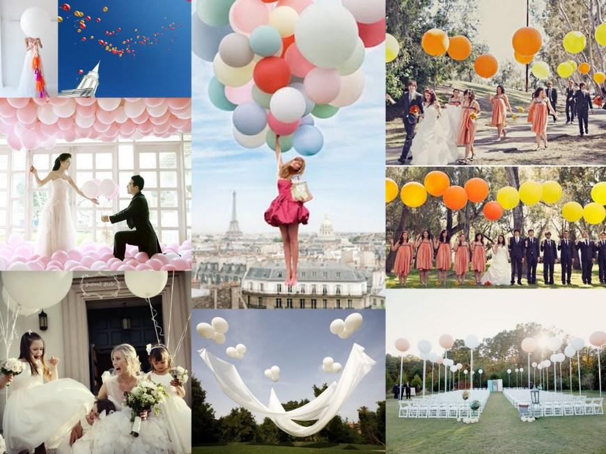 ballons de baudruche mariage 2
