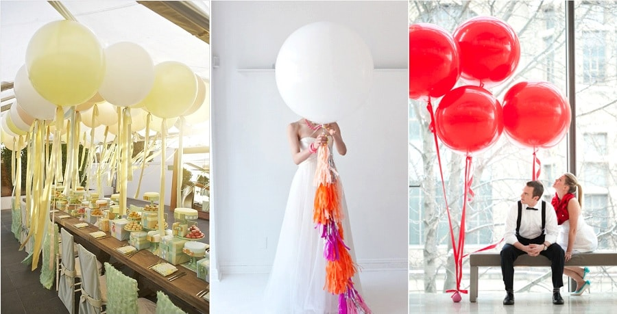 les ballons de baudruche pour d corer son mariage in ou out la mari e en col re blog. Black Bedroom Furniture Sets. Home Design Ideas