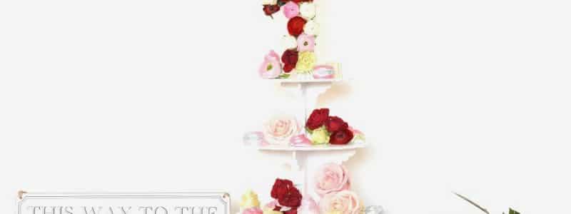 centre de table fleuri gourmandise (2)