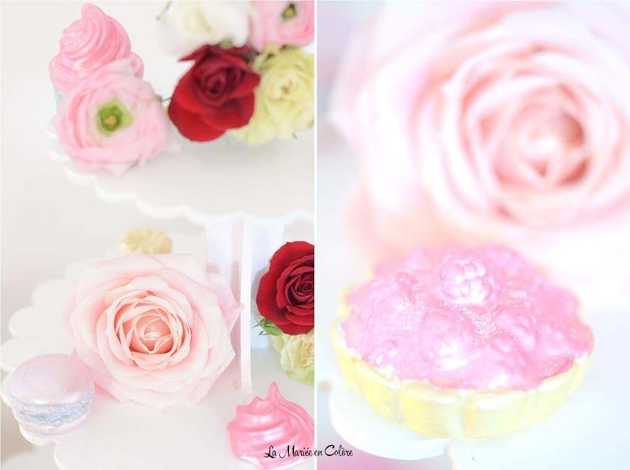 centre de table gourmand fleurs 6
