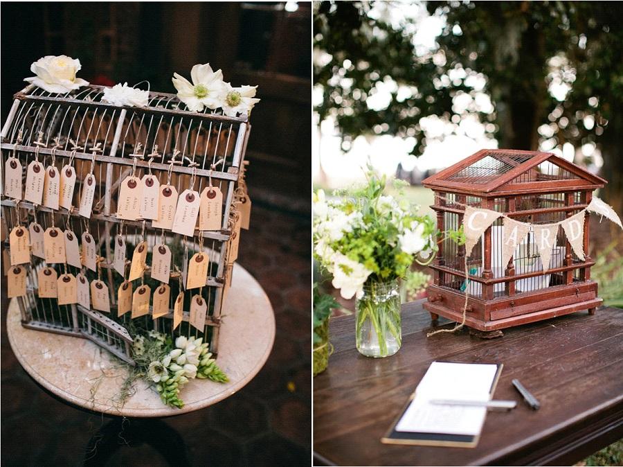 D co de mariage les cages oiseaux la mari e en for Deco cage a oiseaux