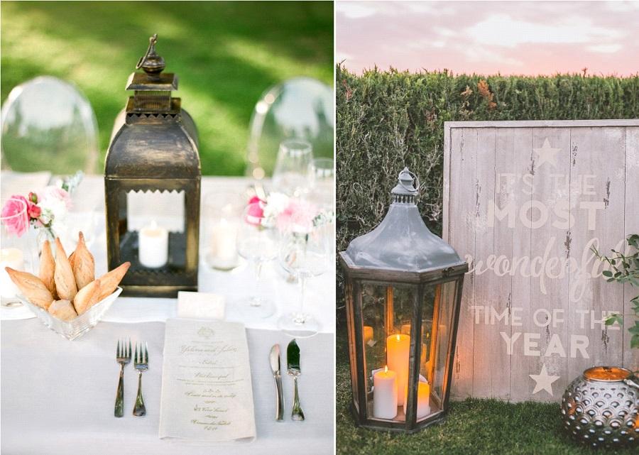 decoration mariage lanternes