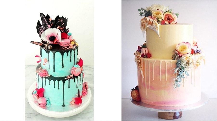 Cake Decorating Quiz : Dessert de mariage original : le drip cake