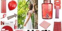 {Inspiration} Mariage en rouge et blanc