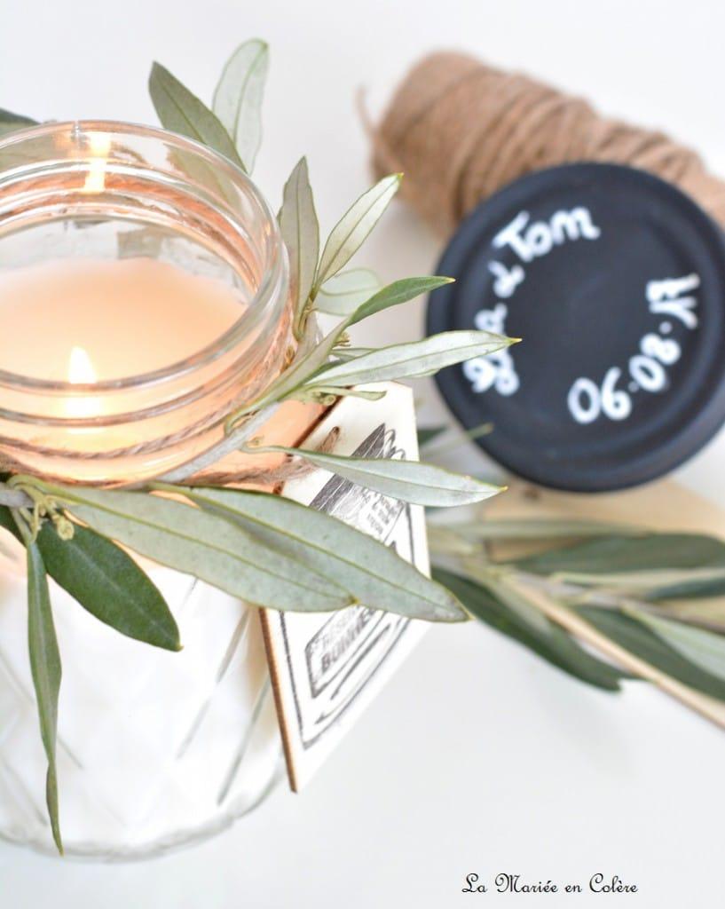 DIY bougies à la vanille