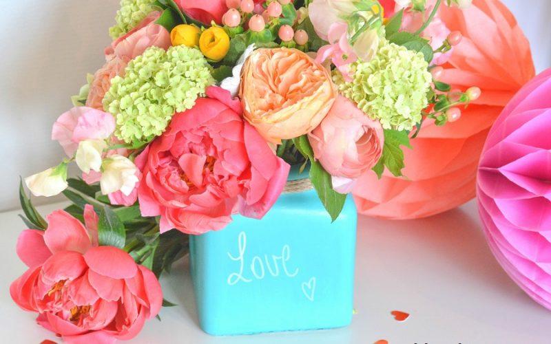{DIY} Un vase cadeau pour la fête des mères