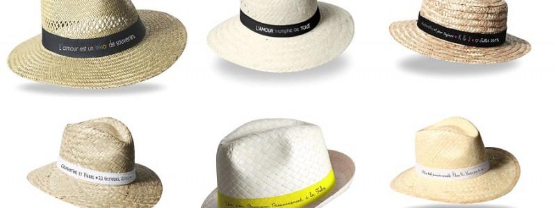Mariage en été : des chapeaux pour mes invités.