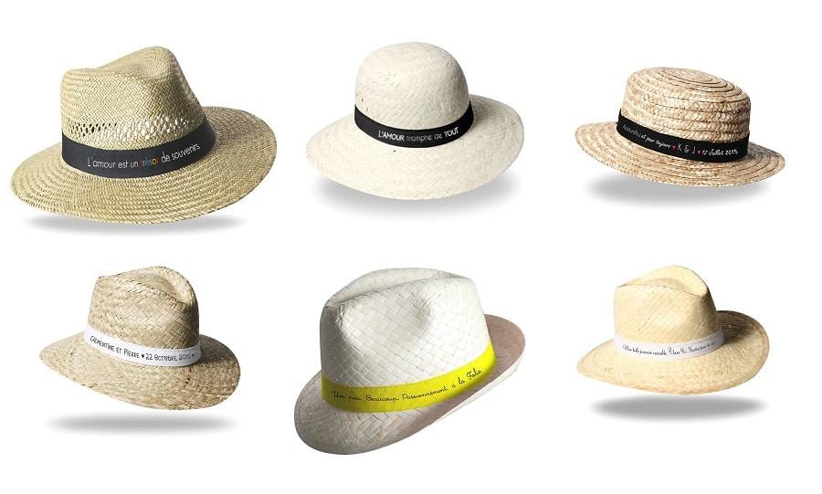 chapeau cadeau mariage