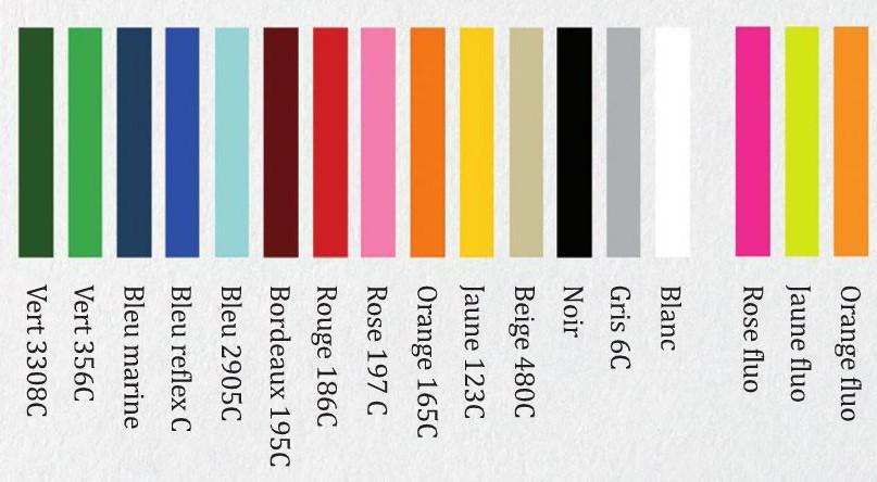 coloris bandeau