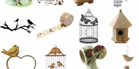 Mariage champêtre & oiseaux : mes idées shopping