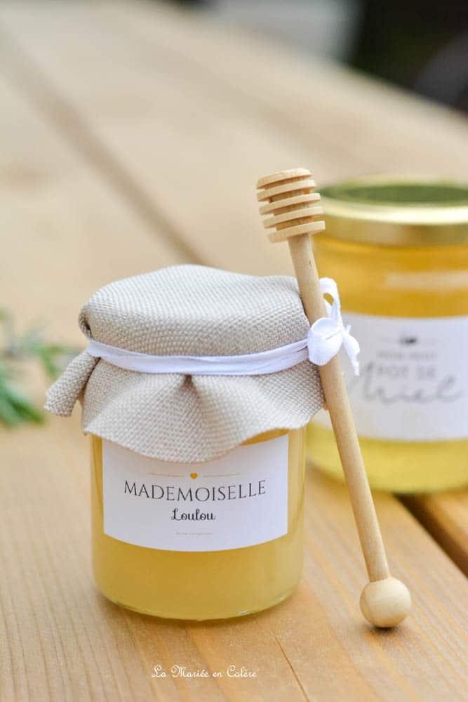 cadeau pour les invit s les petits pots de miel. Black Bedroom Furniture Sets. Home Design Ideas